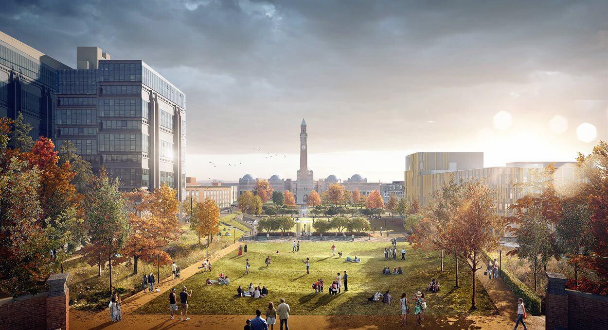 Foto Birmingham University