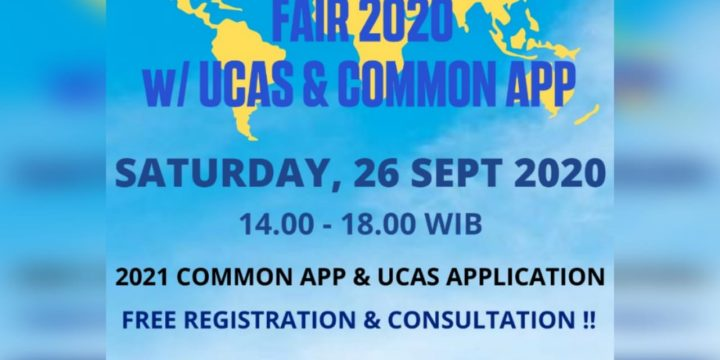 Join Our First Ever Virtual Education Fair with UCAS & Common App !