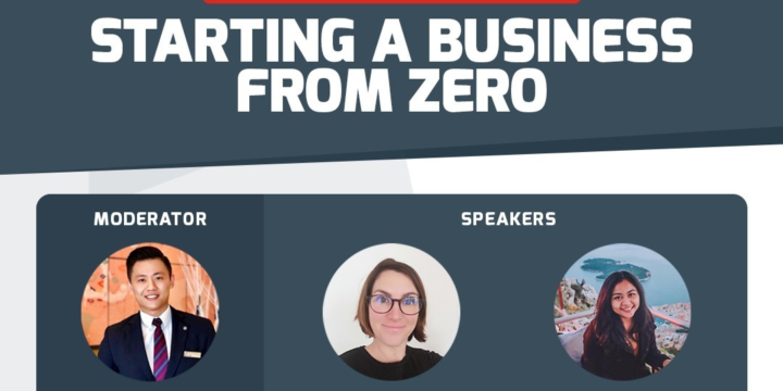 Cesar Ritz Webinar: Starting a Business From Zero