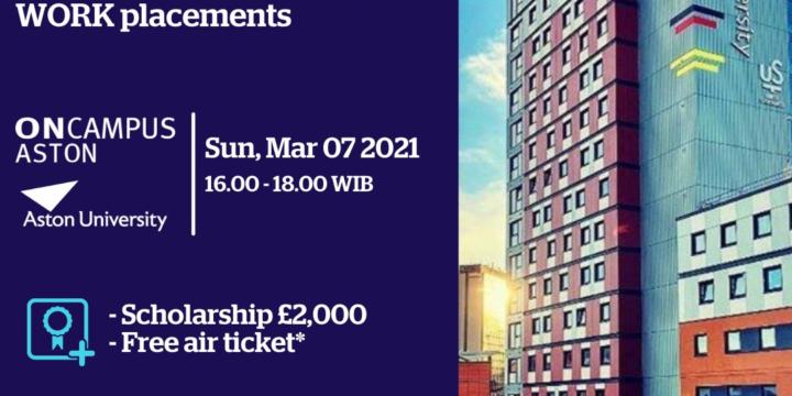 Aston Univ Event – 07 Maret 2021